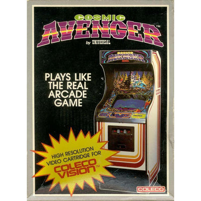 ColecoVision - Cosmic Avenger