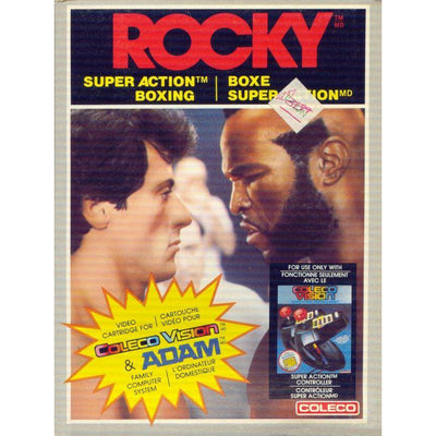 ColecoVision - Rocky Super Action Boxing (Cartridge Only)
