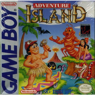 GB - Adventure Island (Cartridge Only)