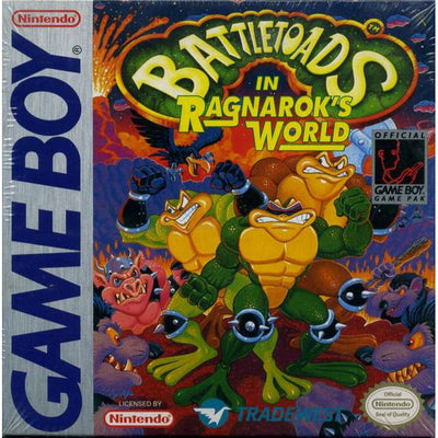 GB - Battletoads In Ragnarok's World (Cartridge Only)