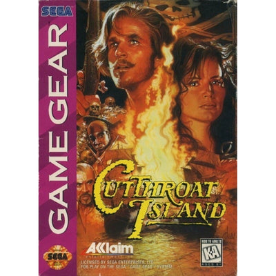 GameGear - CutThroat Island - PUGCanada