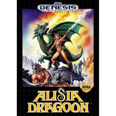 Genesis - Alisia Dragoon (Cartridge Only) - PUGCanada