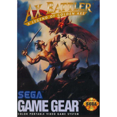 GameGear - Ax Battler A Legend of Golden Axe