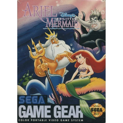 GameGear - Disney's Ariel the Little Mermaid - PUGCanada