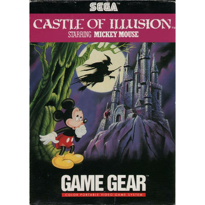 GameGear - Castle of Illusion Starring Mickey Mouse - PUGCanada