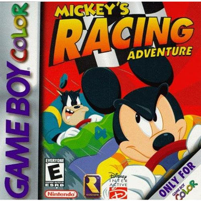 GBC - Mickey's Racing Adventure - PUGCanada