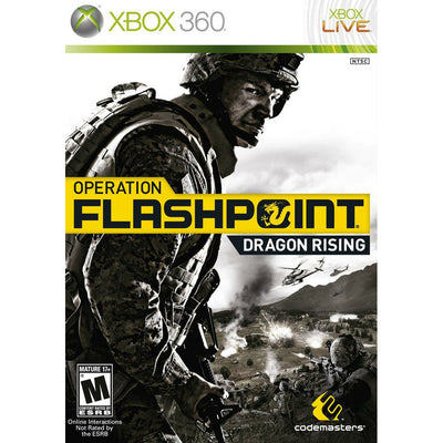 X360 - Operation Flashpoint Dragon Rising