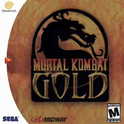 Dreamcast - Mortal Kombat Gold