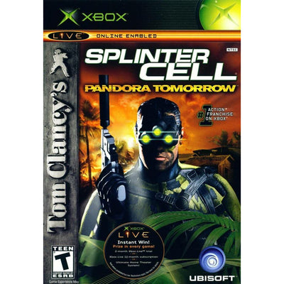 XBOX   Tom Clancy s Splinter Cell Pandora Tomorrow   PUGCanada