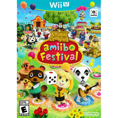 WII U - Animal Crossing Amiibo Festival (Game Only)