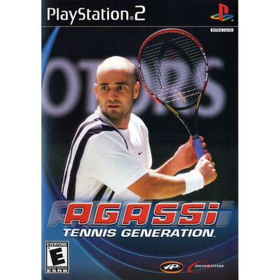 PS2 - Agassi Tennis Generation - PUGCanada