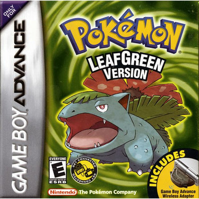 GBA - Pokemon Leaf Green