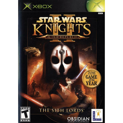XBOX - Star Wars Knights of the Old Republic II The Sith Lords - PUGCanada