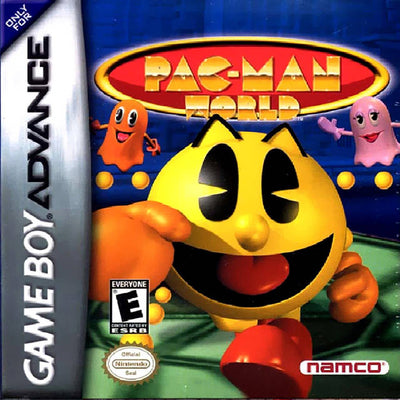 GameBoy Advance - Pac-Man World