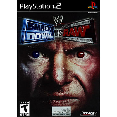 PS2 - WWE Smackdown Vs Raw - PUGCanada