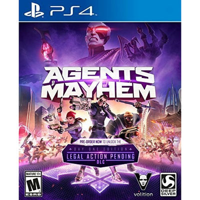 PS4 - Agents Mayhem
