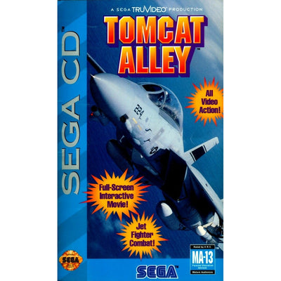 SEGA CD - Tomcat Alley (Printed Cover Art)