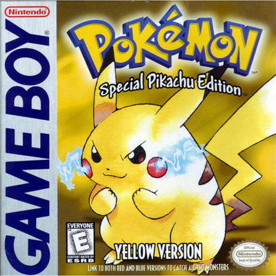 GB - BOX - Pokemon Yellow
