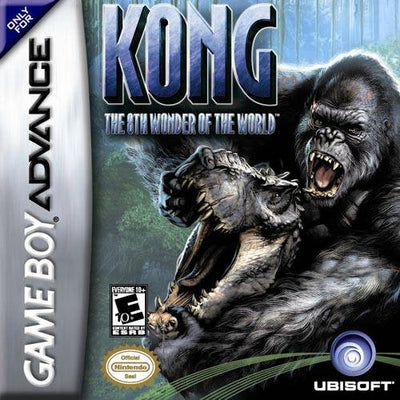 GBA -  Kong The 8th Wonder of the World (Complete in Box)