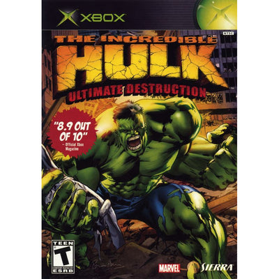 XBOX - The Incredible Hulk Ultimate Destruction