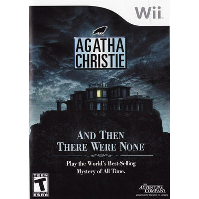WII - Agatha Christie And Then There Were None