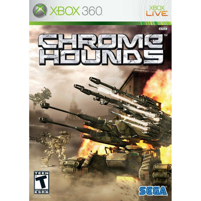 XBOX 360 - Chromehounds (Printed Coverart) - PUGCanada