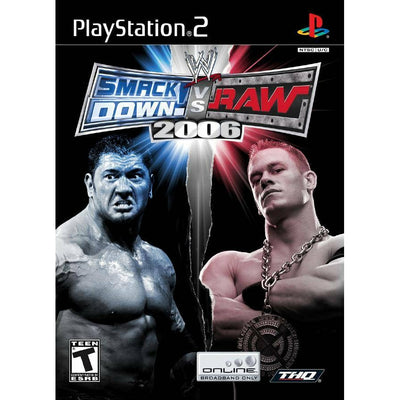 PS2 - WWE Smackdown Vs Raw 2006 - PUGCanada