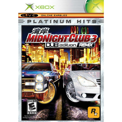 XBOX - Midnight Club 3 DUB Edition Remix (Platinum Hits) - PUGCanada