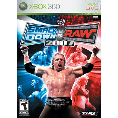 X360 - WWE Smackdown vs Raw 2007 - PUGCanada