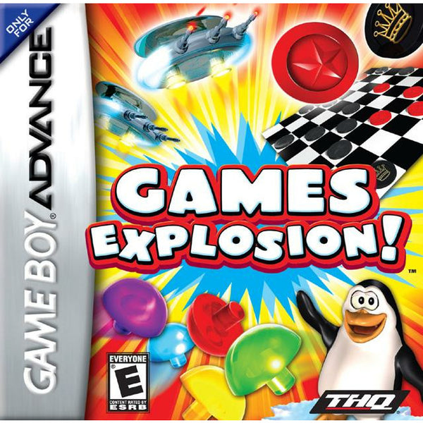 GBA - Games Explosion (Cartridge Only) - Power Up Gaming