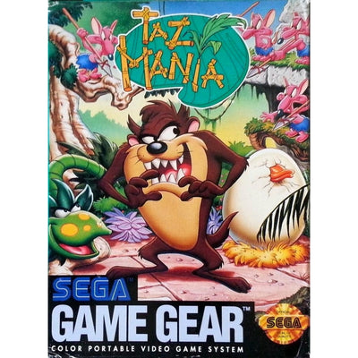 GameGear - BOX - Taz-Mania