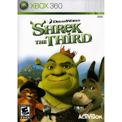 X360 - Shrek The Third