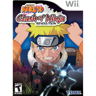 WII - Naruto Clash of Ninja Revolution - PUGCanada