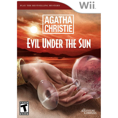 WII - Agatha Christie Evil Under The Sun