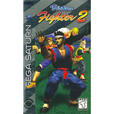 SATURN - Virtua Fighter 2 (Printed Cover Art) - PUGCanada