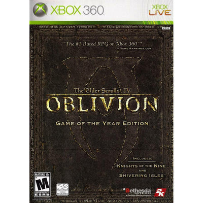 X360 - The Elder Scrolls IV: Oblivion (Game of the Year Edition) - PUGCanada