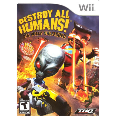 WII - Destroy All Humans - Big Willy Unleashed - PUGCanada