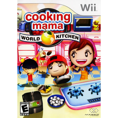 Wii - Cooking Mama World Kitchen