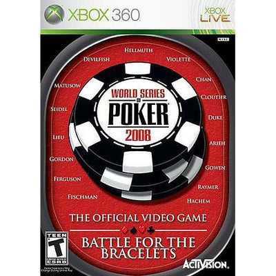X360 - World Series Of Poker Battle For The Bracelets