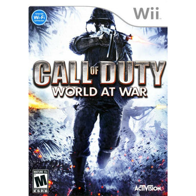 Wii - Call of Duty World at War - PUGCanada