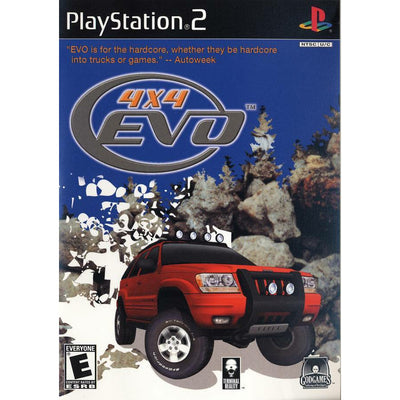 PS2 - 4X4 Evolution