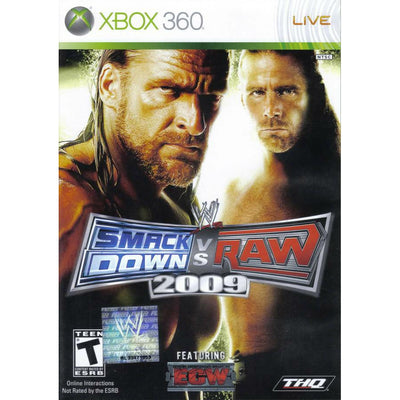 X360 - WWE Smackdown vs Raw 2009 - PUGCanada