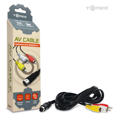 Genesis Model 2/3 AV Cable by Tomee