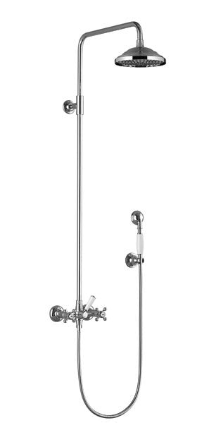 Dornbracht 26601360 Madison Exposed Shower Set with Rainhead