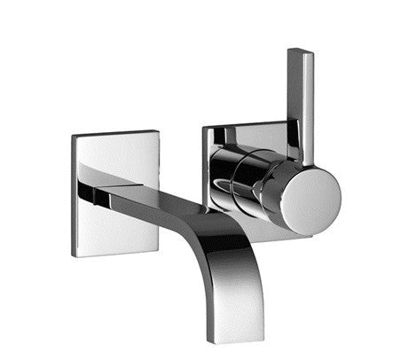 Dornbracht 36812782 Mem Wall Mounted Single Lever Basin Mixer with Individual Rosettes