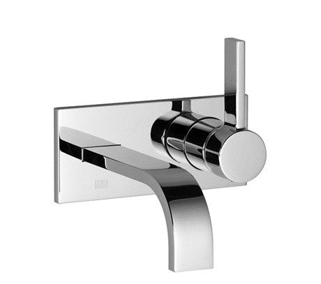 Dornbracht 36820782 Mem Wall Mounted Single Lever Basin Mixer with Cover Plate