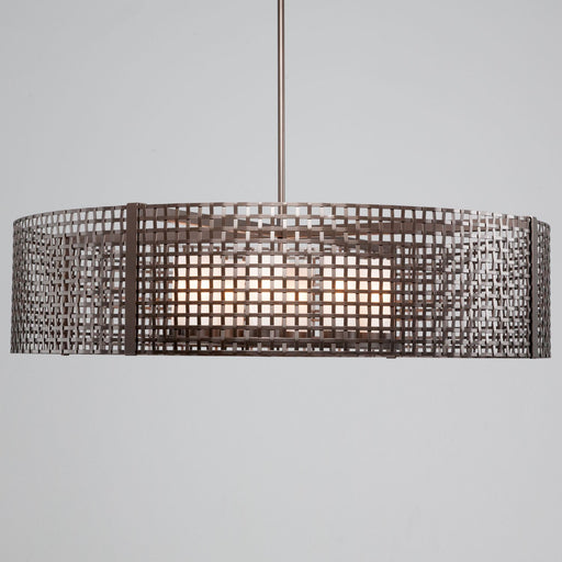 Hammerton Studio New Tweed 8 Light Drum Pendant Light