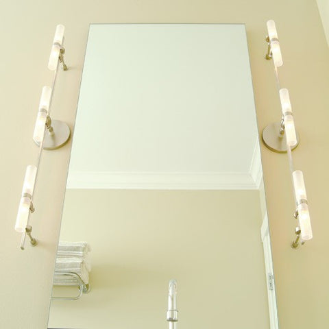 LBL Lighting Twin Tube Monorail Bath Kit