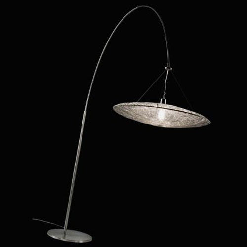 & Costa Coco Steel Arc Floor Lamp