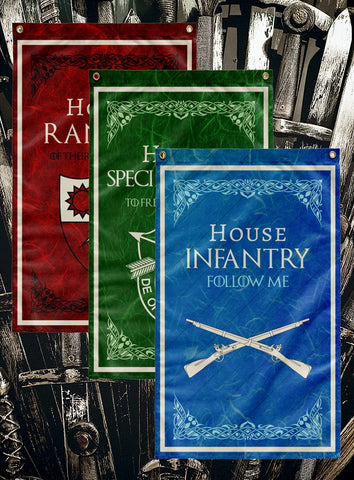 Game of Thrones Army Flags